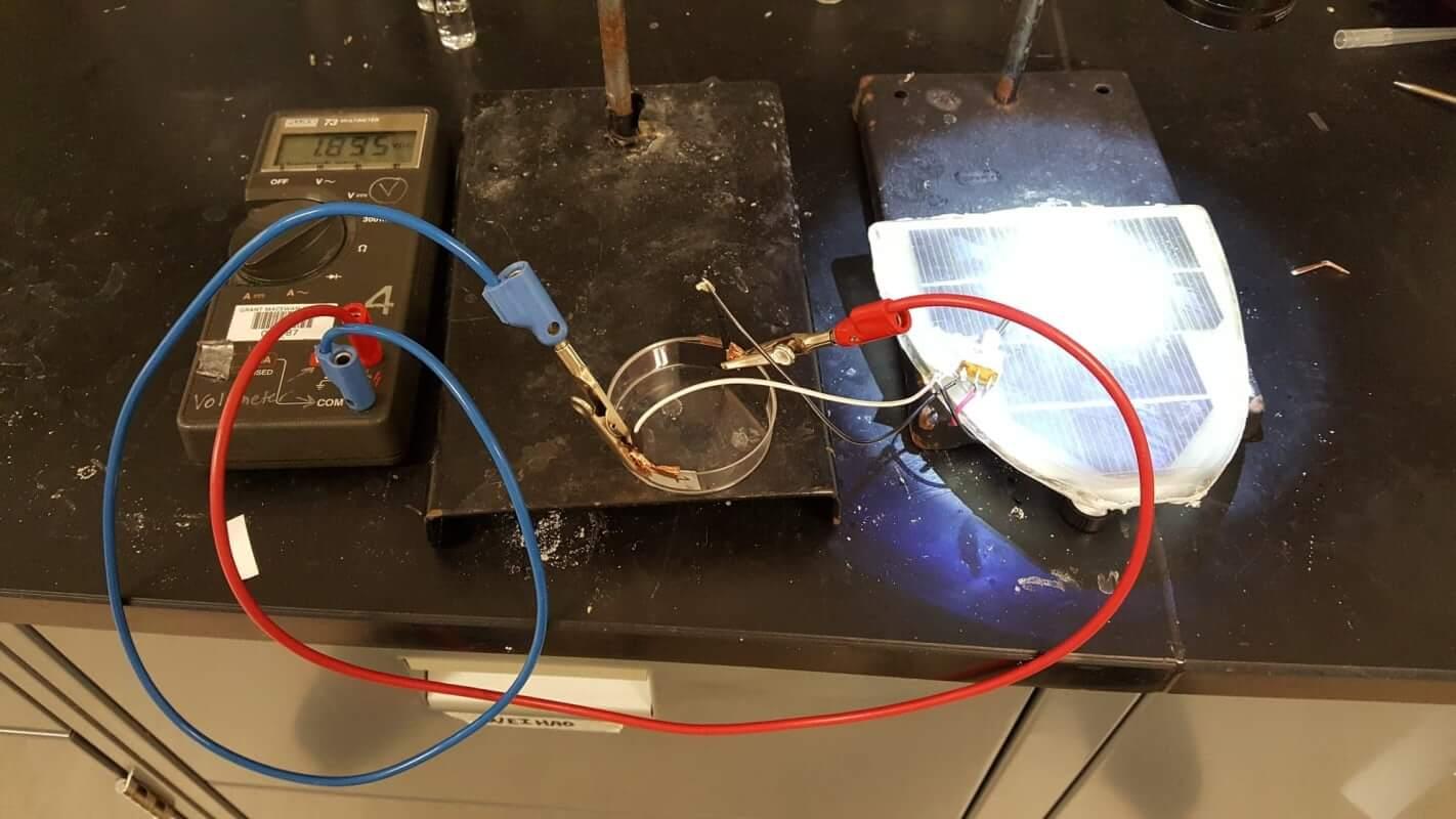 Capacitive De-Ionization Experiment